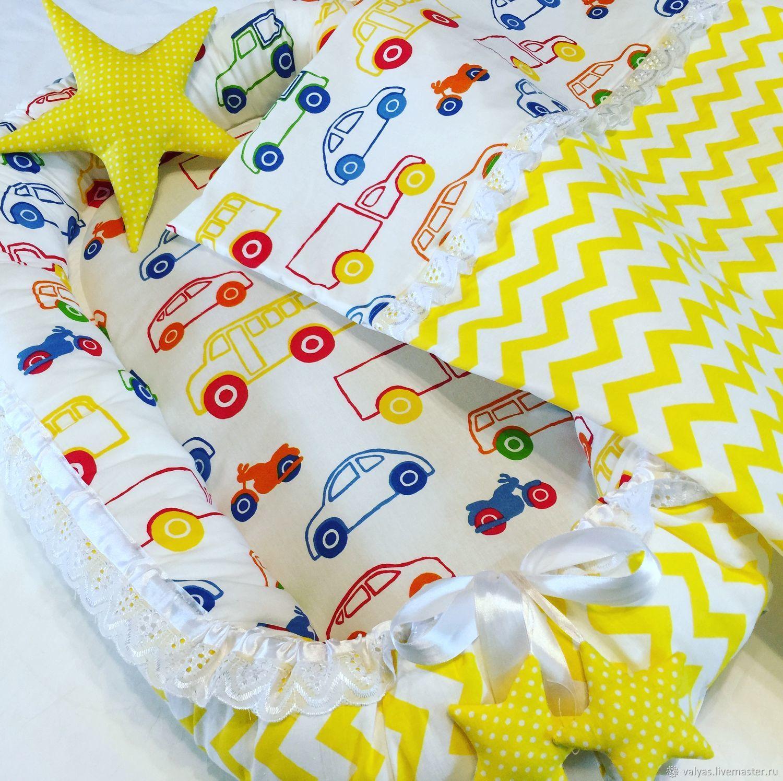 Детская ручной работы. Ярмарка Мастеров - ручная работа. Купить Кокон + одеяло+ игрушка. Handmade. Мягкая игрушка