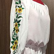 Одежда handmade. Livemaster - original item Copy of Women`s embroidered dress ЖП1-86. Handmade.