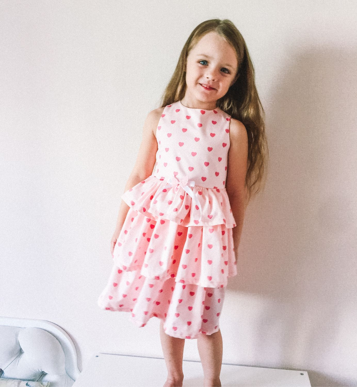 Платье для девочки, Платья, Новосибирск,  Фото №1