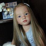 Куклы и игрушки ручной работы. Ярмарка Мастеров - ручная работа Грета. Нежнее жемчужины.. Handmade.