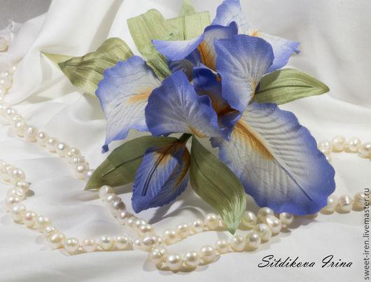 Цветы из шелка. Ситдикова Ирина