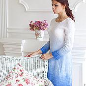 Одежда ручной работы. Ярмарка Мастеров - ручная работа Валяное платье. Handmade.
