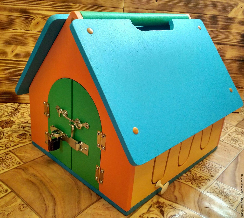 Домик для детей из фанеры