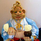 Куклы и игрушки ручной работы. Ярмарка Мастеров - ручная работа Пузатый Пацюк для Марины. Handmade.