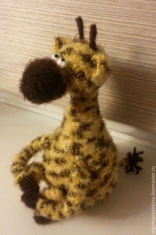 Игрушки животные, ручной работы. Ярмарка Мастеров - ручная работа. Купить Жирафик. Handmade. Вязание крючком, подарок на новый год, жирафик