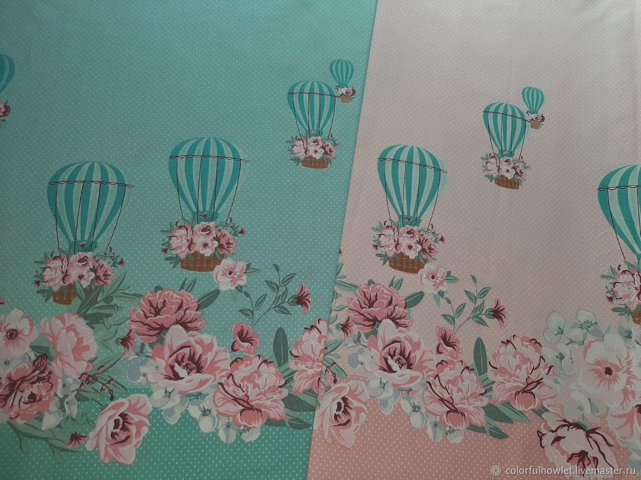Ткань 100% хлопок для шитья саржа декоративная рогожка, Ткани, Иваново,  Фото №1