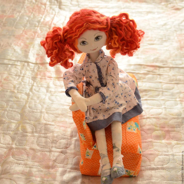 Платье для рыжей куклы