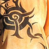"""Одежда ручной работы. Ярмарка Мастеров - ручная работа Туника """"Солнце""""  - батик. Handmade."""