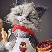 Куклы и игрушки handmade. Livemaster - original item Thank YOU, CAT, COOK. Handmade.