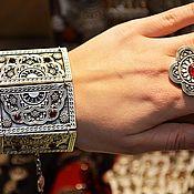 Украшения handmade. Livemaster - original item Loveliness.  Bracelet made of silver and Melchior. Handmade.