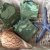 Мыло ручной работы. Ярмарка Мастеров - ручная работа Мыло скраб с морскими водораслями и глинами. Handmade.