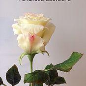 Цветы ручной работы. Ярмарка Мастеров - ручная работа Роза полноразмерная. Handmade.