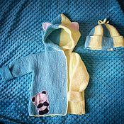 Одежда ручной работы. Ярмарка Мастеров - ручная работа Детский вязаный кардиган. Handmade.