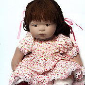 Куклы и игрушки handmade. Livemaster - original item textile doll Dasha. Handmade.