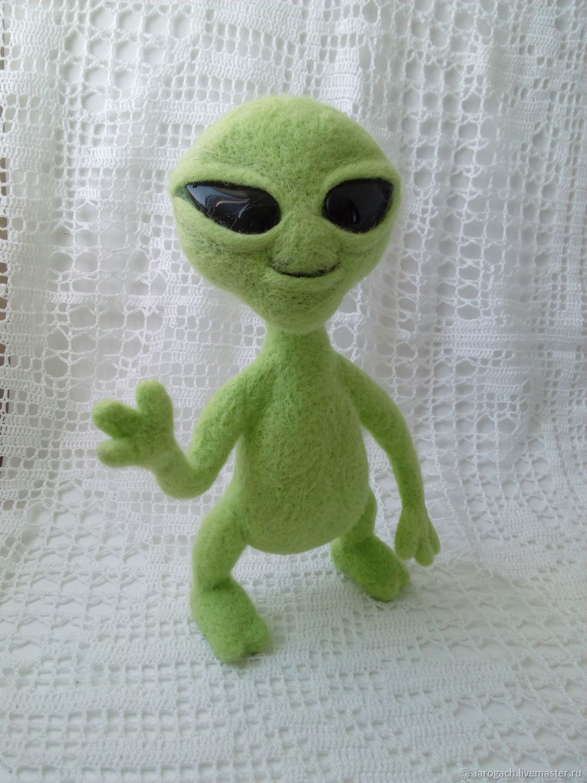 Alien doll Needle Felting, Felted Toy, Stavropol,  Фото №1