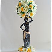 Для дома и интерьера ручной работы. Ярмарка Мастеров - ручная работа Эфиопка. Handmade.