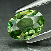 Украшения handmade. Livemaster - original item Demantoid garnet 0,89 carats (the rarest of all garnets). Handmade.