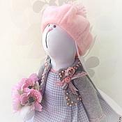 Куклы и игрушки ручной работы. Ярмарка Мастеров - ручная работа Pink Рearl зайка-неженка. Handmade.