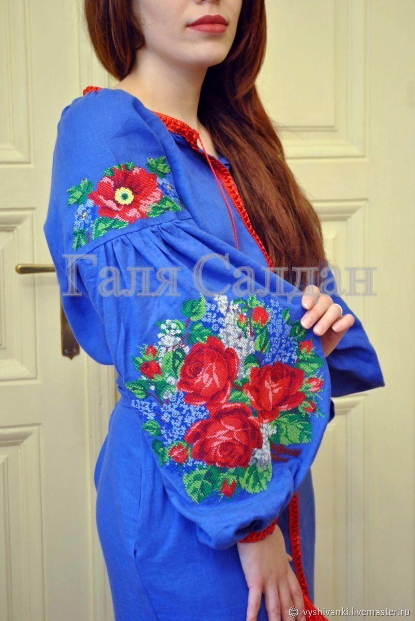 Стильное платье в бохо стиле с яркими цветами, Комбинезоны, Львов,  Фото №1