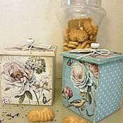 """Для дома и интерьера ручной работы. Ярмарка Мастеров - ручная работа Короб для кухни """"Букет"""". Handmade."""