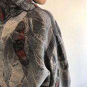Одежда handmade. Livemaster - original item Sweater felted on silk