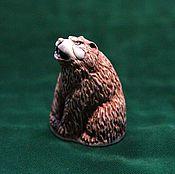 Для дома и интерьера handmade. Livemaster - original item Figurine carved from moose antlers