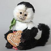 Куклы и игрушки ручной работы. Ярмарка Мастеров - ручная работа Обезьянка капуцин Мико. Handmade.