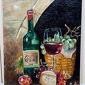 Pictures handmade. Livemaster - original item Oil miniature