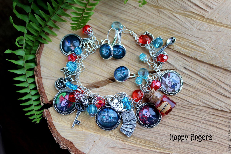 Jewelry 'Alice in Wonderland' Alice in Wonderland Hatter, Jewelry Sets, Elektrostal,  Фото №1