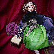 Куклы и пупсы ручной работы. Ярмарка Мастеров - ручная работа Куклы: Девушка 20х годов. Handmade.