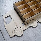 Техника, роботы, транспорт ручной работы. Ярмарка Мастеров - ручная работа Гараж для машинок. Handmade.