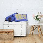 """Для дома и интерьера ручной работы. Ярмарка Мастеров - ручная работа 2 подушки """"Весна"""". Handmade."""