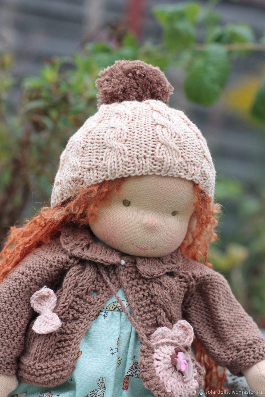 Куклы:Вальдорфская кукла Шарлотта 36 см, Вальдорфские куклы и звери, Москва,  Фото №1