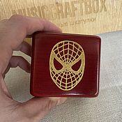 Подарки к праздникам handmade. Livemaster - original item Spider-Man Music Box Spider-Man. Handmade.