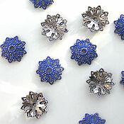 Материалы для творчества handmade. Livemaster - original item Accessories for jewelry: hats cups huggers for beads. Handmade.