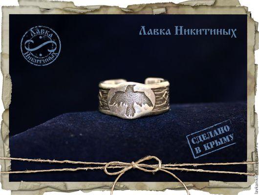 Кольца ручной работы. Ярмарка Мастеров - ручная работа. Купить Кольцо с вороном. Handmade. Кольцо серебряное, серебряное кольцо