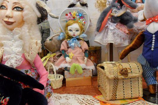 Коллекционные куклы ручной работы. Ярмарка Мастеров - ручная работа. Купить Николина)). Handmade. Розовый, куклы и игрушки, авторская кукла