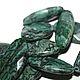 3. Яшма, цвет зелено-серая, форма плоский овал с огранкой, размер 30*17 мм