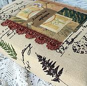 Блокноты ручной работы. Ярмарка Мастеров - ручная работа Альбом для гербария. Handmade.