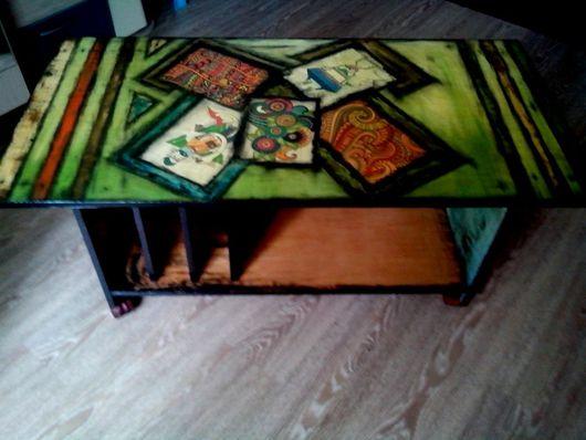 Мебель ручной работы. Ярмарка Мастеров - ручная работа. Купить Журнальный стол. Handmade. Стол, дизайн