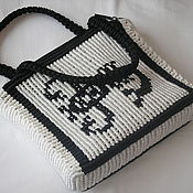 """Плетеная женская сумка """"Знак зодиака"""""""
