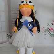 Куклы и игрушки ручной работы. Ярмарка Мастеров - ручная работа Текстильная интерьерная кукла МИНЬОН. Handmade.