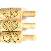 Для дома и интерьера ручной работы. Ярмарка Мастеров - ручная работа Сердце скалка для печенья и пряников в подарок девушке. Handmade.