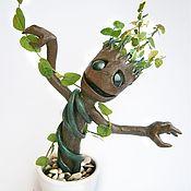 """Куклы и игрушки ручной работы. Ярмарка Мастеров - ручная работа Грут (Groot) из фильма """"Guardians Of The Galaxy"""". Handmade."""