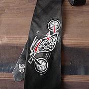 Аксессуары ручной работы. Ярмарка Мастеров - ручная работа Байкер-галстук. Handmade.