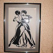 Картины и панно ручной работы. Ярмарка Мастеров - ручная работа Пара в танце. Handmade.
