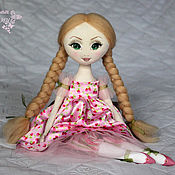 Куклы и игрушки ручной работы. Ярмарка Мастеров - ручная работа Виктория - авторская текстильная кукла. Handmade.