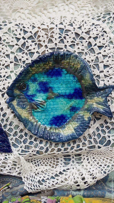 "Винтаж: Комплект тарелок "" Ловись, рыбка"", Винтажные тарелки, Санкт-Петербург,  Фото №1"