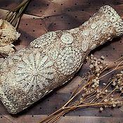 Для дома и интерьера handmade. Livemaster - original item Vase of Sicilian lace