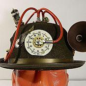 "Субкультуры handmade. Livemaster - original item Cylinder (Kettle) Hat Steampunk  ""ACCELERATOR"". Handmade."